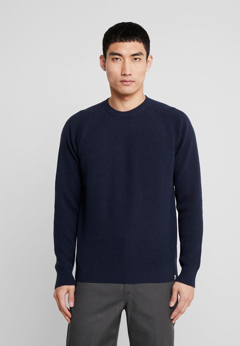 Minimum - OMMEL - Strickpullover - navy blazer