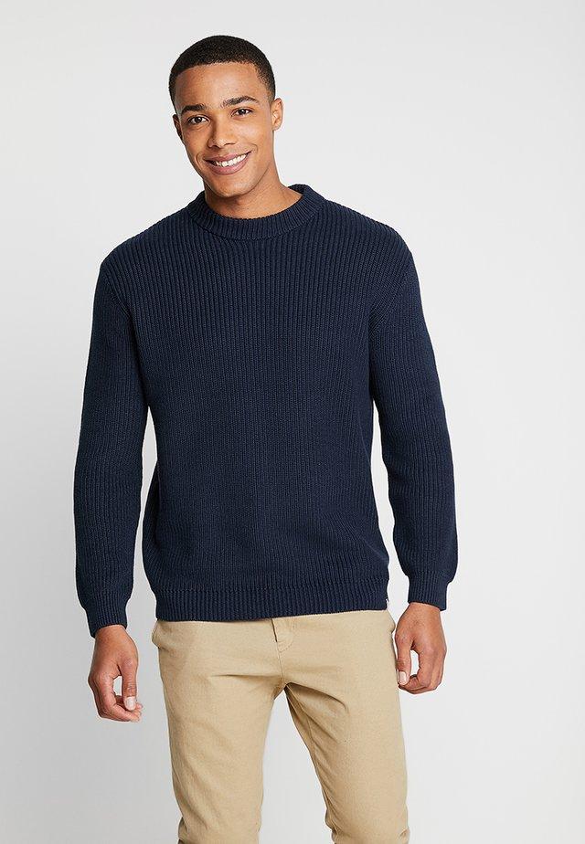 WEBER - Strickpullover - navy blazer