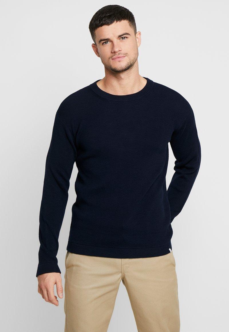 Minimum - PEDERSEN - Strickpullover - navy blazer