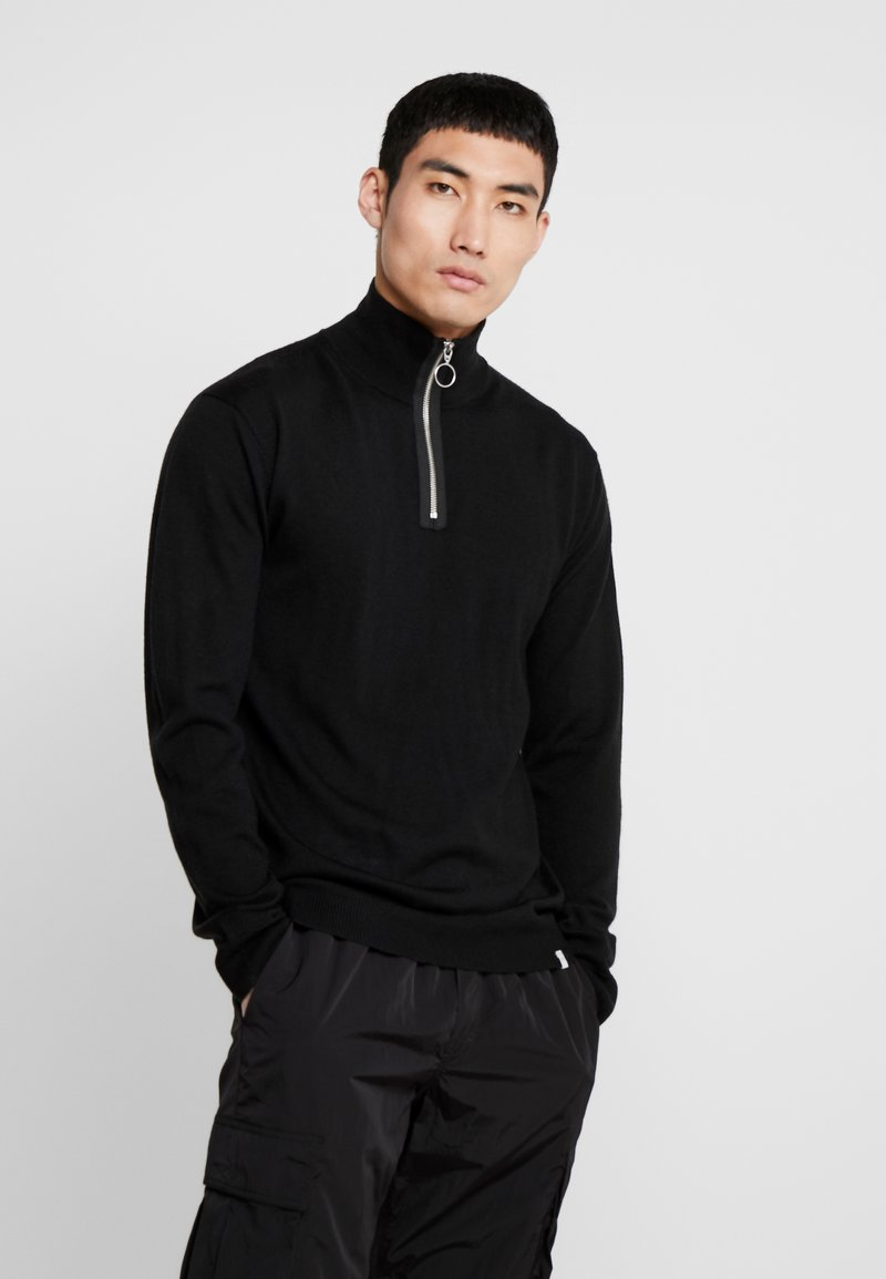 Minimum - FLORMAN - Pullover - black