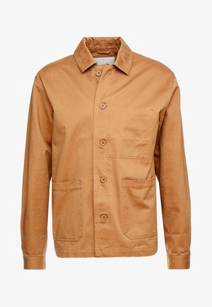 OERSTED - Summer jacket - tobacco brown