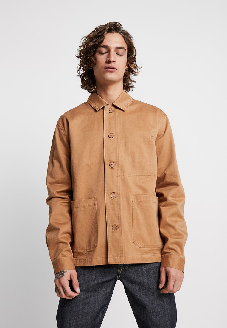 Minimum - OERSTED - Summer jacket - tobacco brown