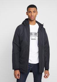 Minimum - MOSS - Winter coat - black - 0