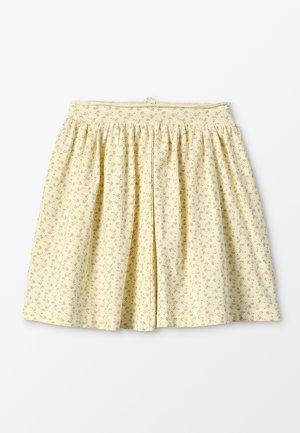 INE SKIRT - Mini skirt - yellow anise