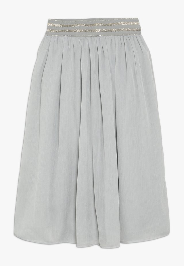 BLONDIE SKIRT - Spódnica trapezowa - moon grey