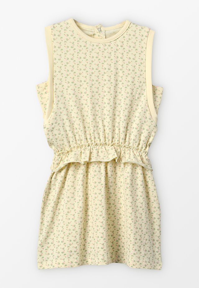 YOMA DRESS - Jerseyjurk - yellow anise