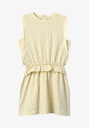 YOMA DRESS - Vestito di maglina - yellow anise