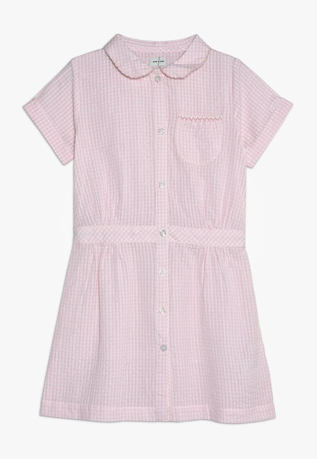 SITA DRESS - Košilové šaty - blushing pink