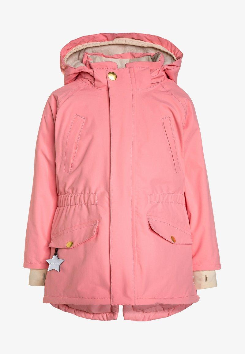 MINI A TURE - VIBSE - Winter coat - geranium pink