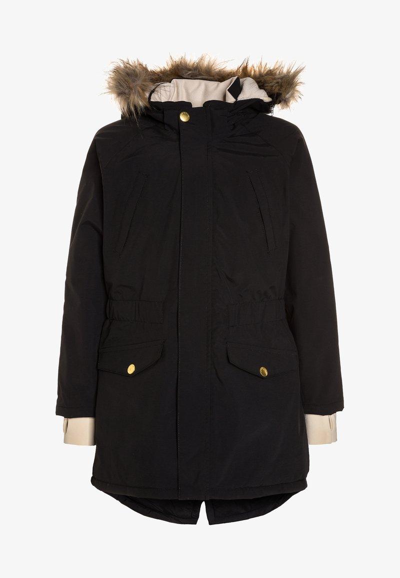 MINI A TURE - VIBSE  - Cappotto invernale - black