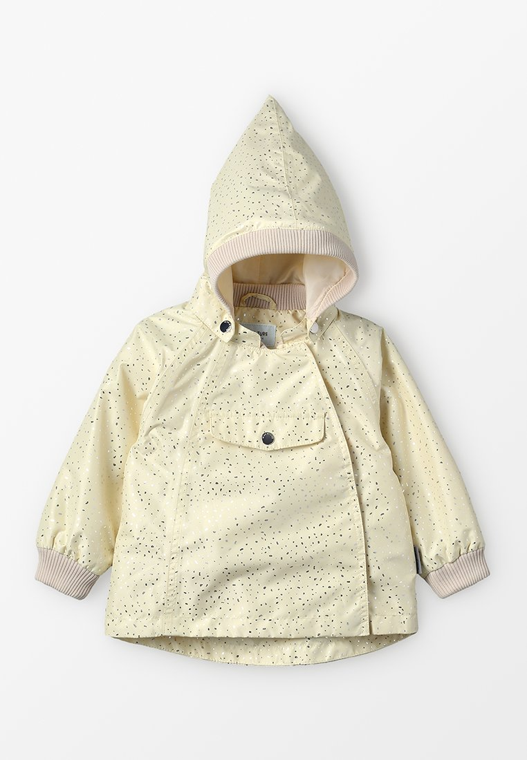 MINI A TURE - Waterproof jacket - yellow anise flower