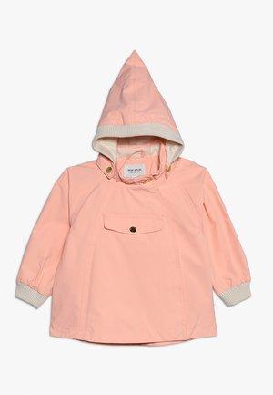 Waterproof jacket - peach bud