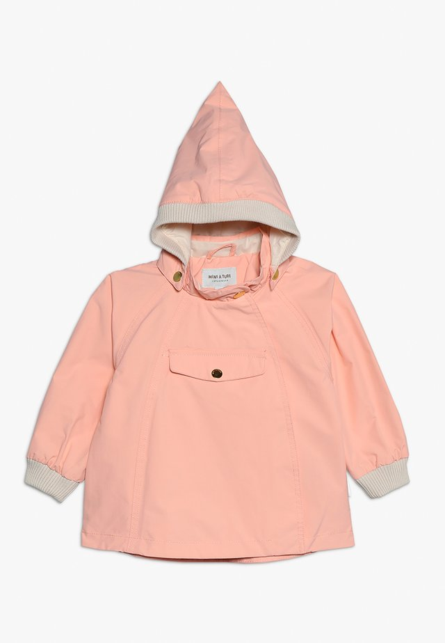 Waterproof jacket - peach bud