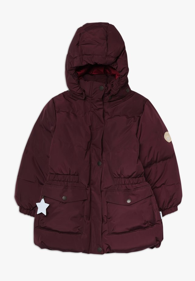 WENCKE JACKET - Down coat - winetasting plum