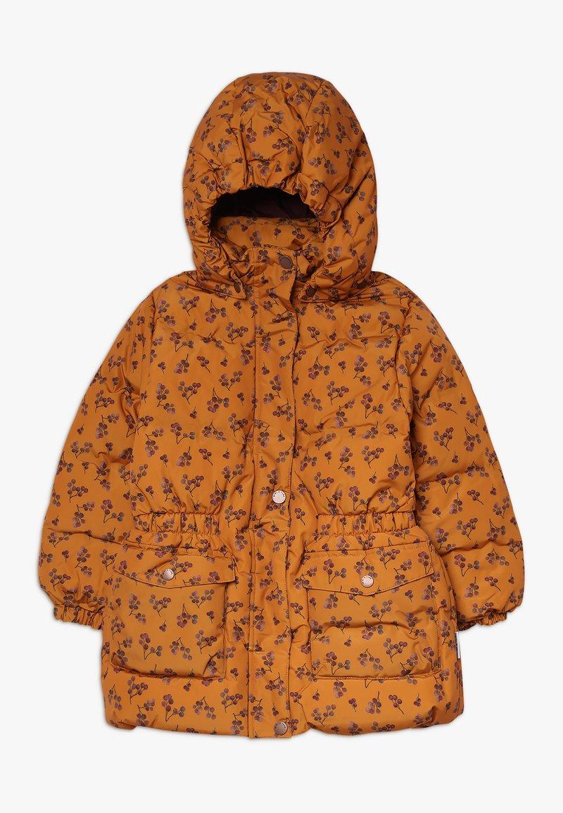 MINI A TURE - WENCKE JACKET - Down coat - autumnal brown