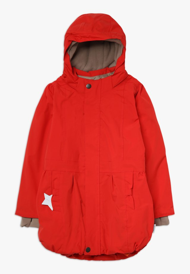 VIOLA JACKET - Winter coat - aura red