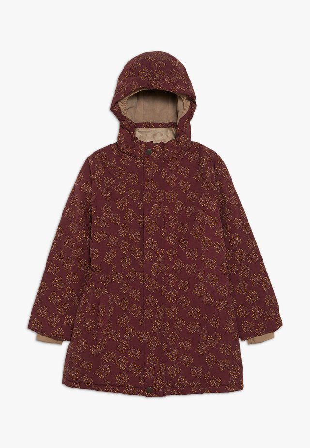 WERA JACKET - Winter coat - winetasting plum