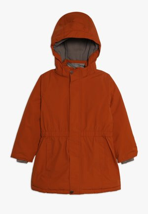 WERA JACKET - Wintermantel - autumnal brown