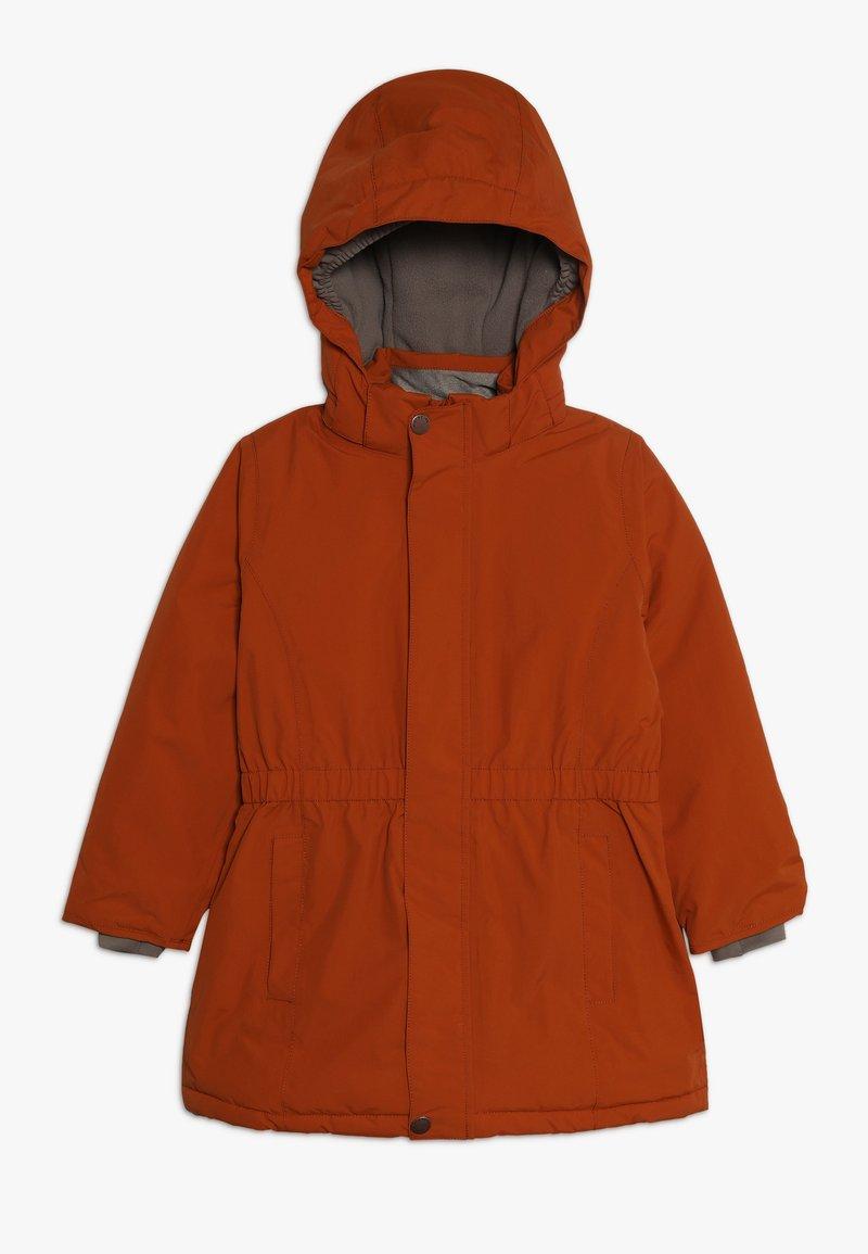 MINI A TURE - WERA JACKET - Płaszcz zimowy - autumnal brown