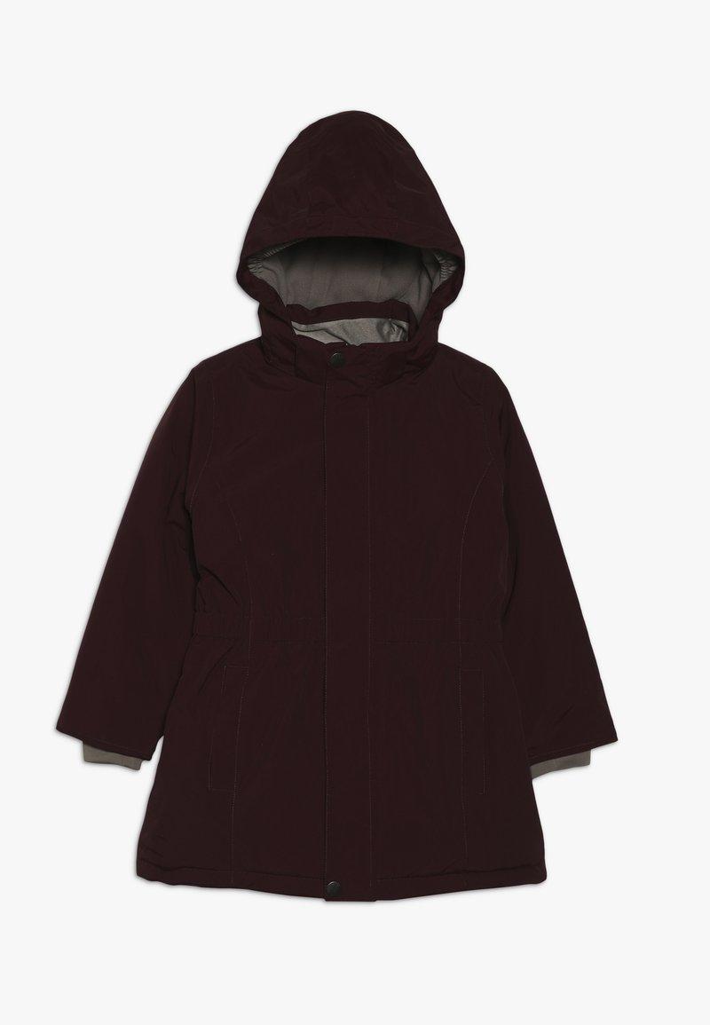 MINI A TURE - WERA JACKET - Winter coat - winetasting plum