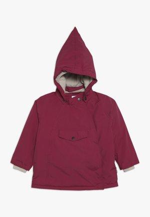 WANG JACKET - Zimní bunda - cherry