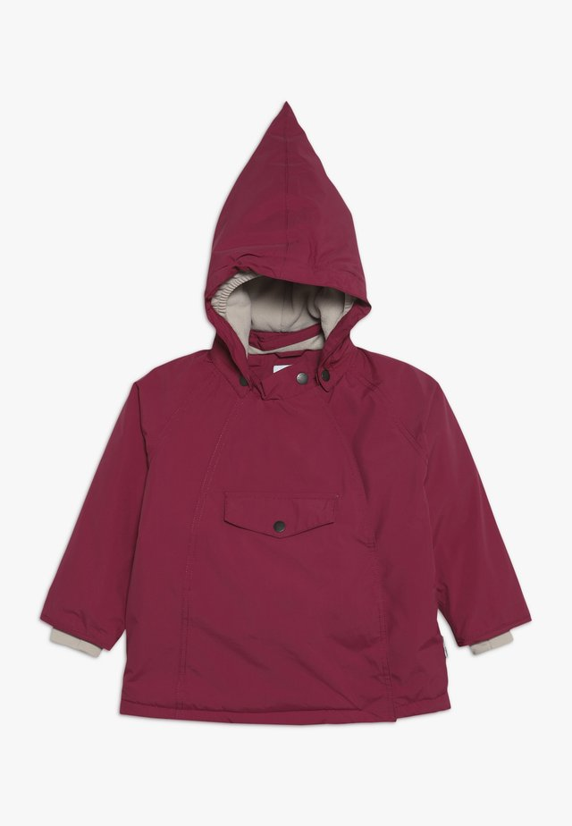 WANG JACKET - Winter jacket - cherry
