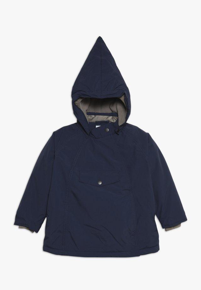 WANG JACKET - Zimní bunda - peacoat blue