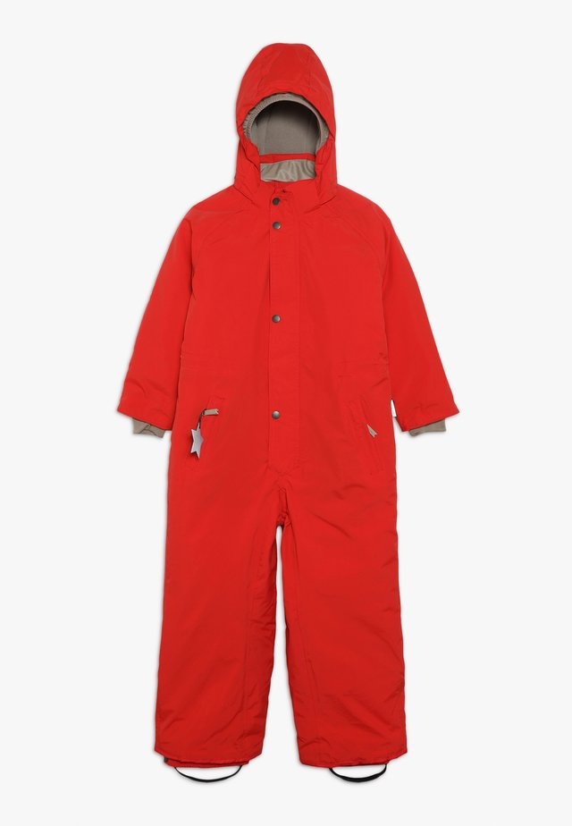 WANNI SNOWSUIT - Snowsuit - aura red