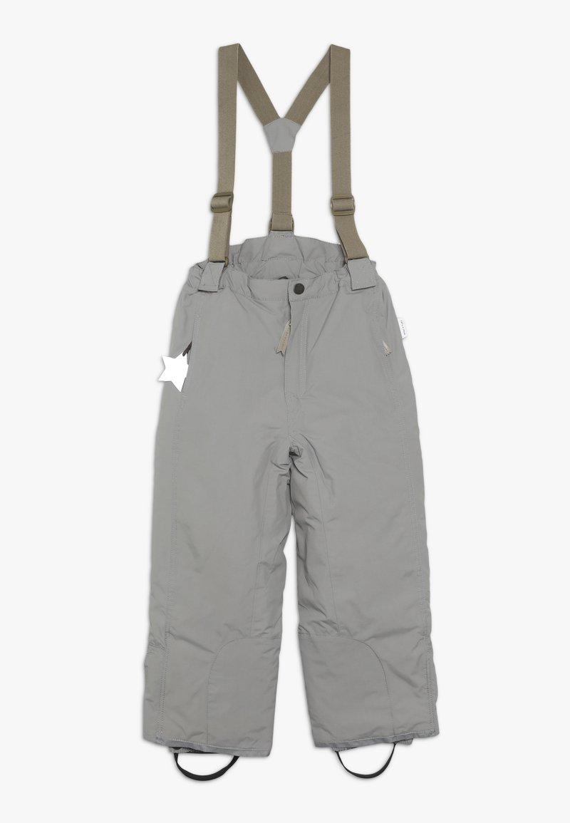 MINI A TURE - WITTE PANTS - Spodnie narciarskie - cloudburst grey