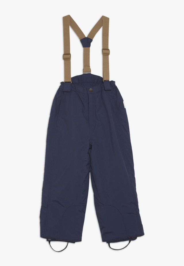 WITTE PANTS - Snow pants - peacoat blue