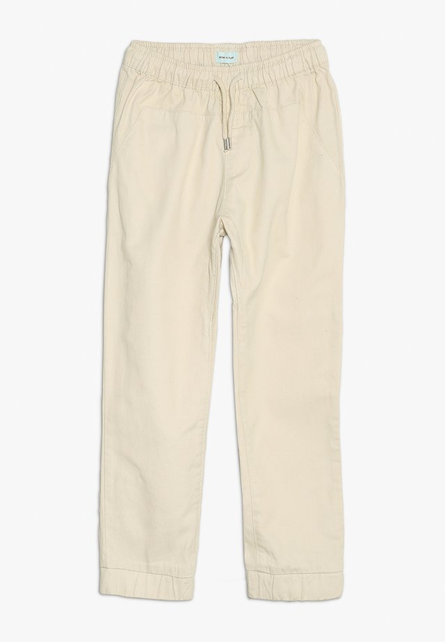 COLE PANTS - Stoffhose - sandshell