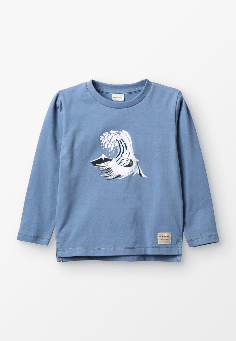 MINI A TURE - Långärmad tröja - blue horizon