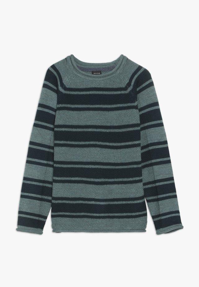 KAARE - Stickad tröja - deep teal