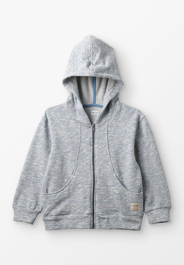 ANTON HOODIE - veste en sweat zippée - blue horizon