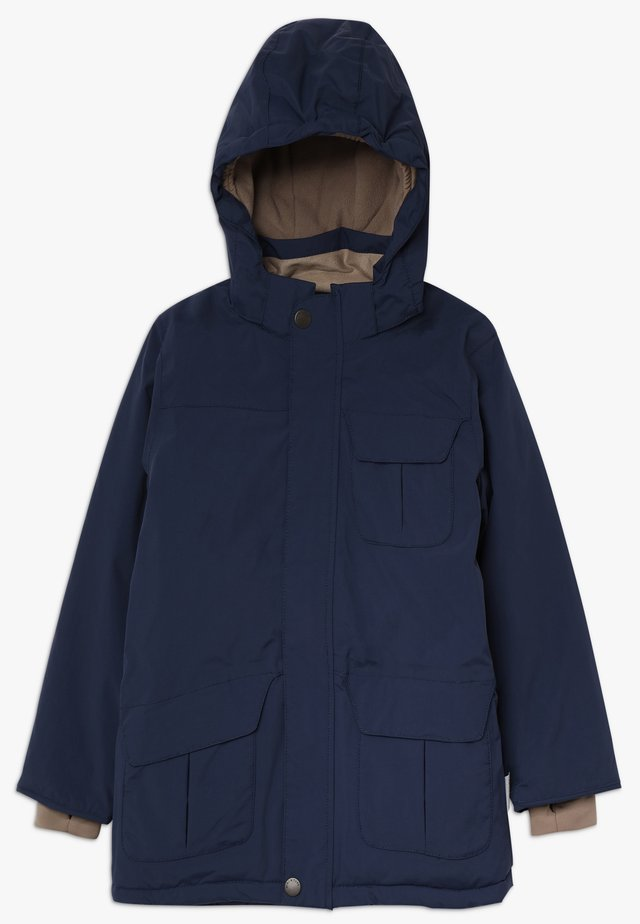 WALDER - Winter coat - peacoat blue