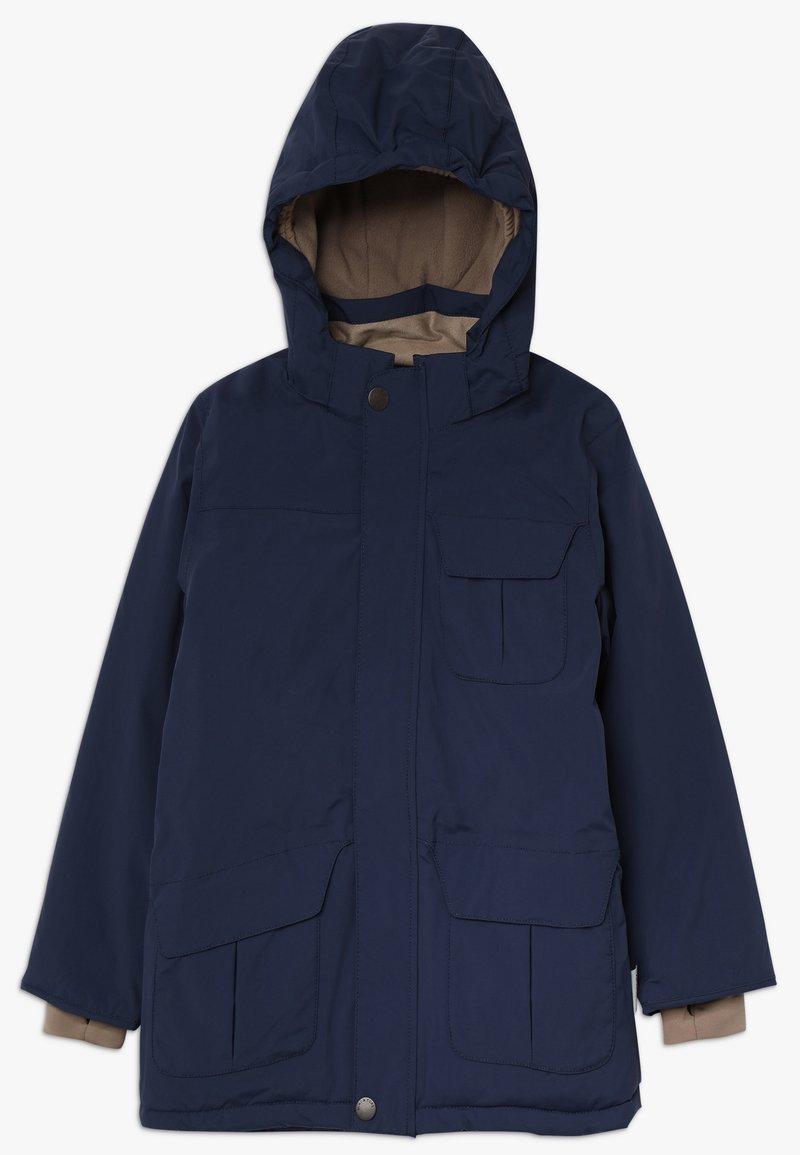 MINI A TURE - WALDER - Winter coat - peacoat blue