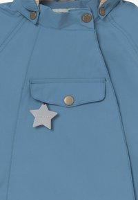MINI A TURE - WAI  - Waterproof jacket - blue heaven - 4