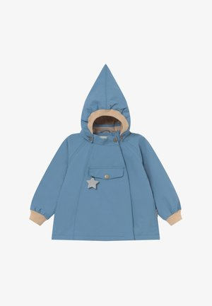 WAI  - Waterproof jacket - blue heaven