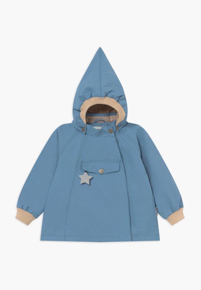 WAI  - Waterproof jacket - blue heaven