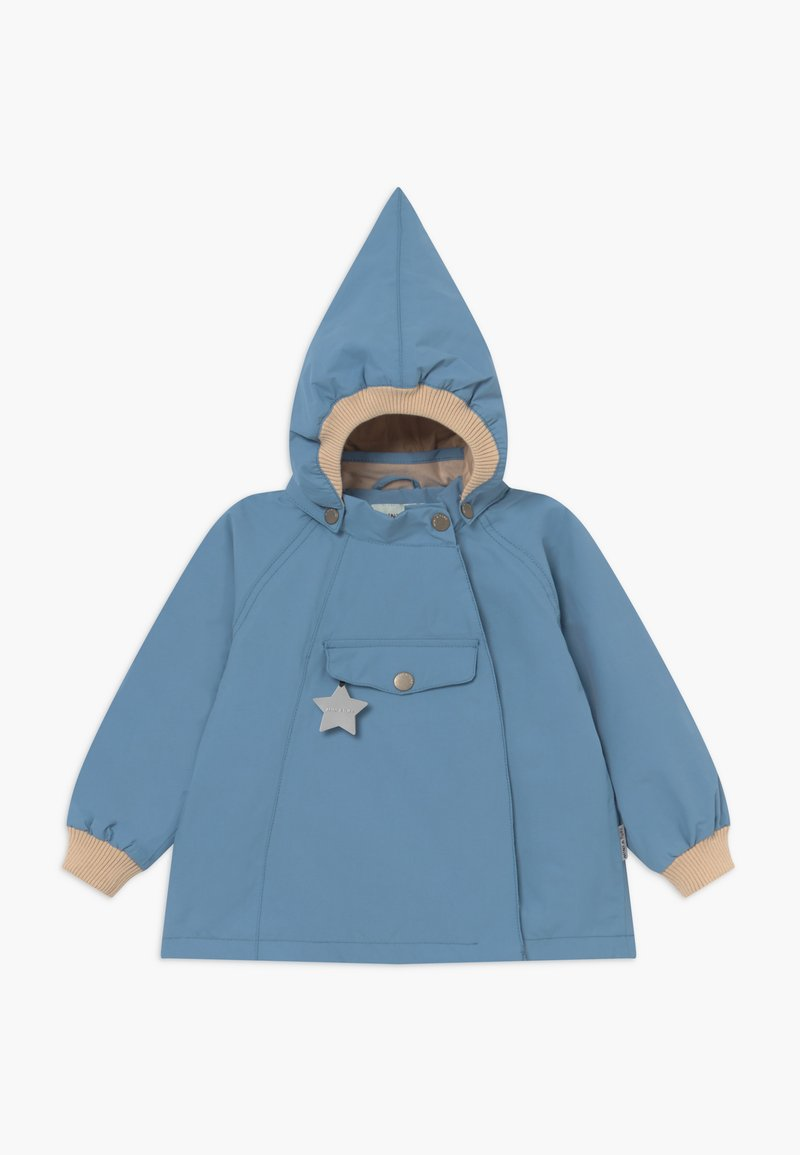 MINI A TURE - WAI  - Waterproof jacket - blue heaven