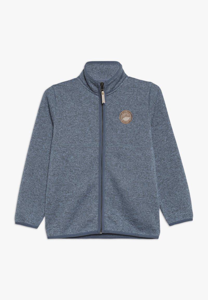 MINI A TURE - COZMO ZIP JACKET - Fleece jacket - dusty blue