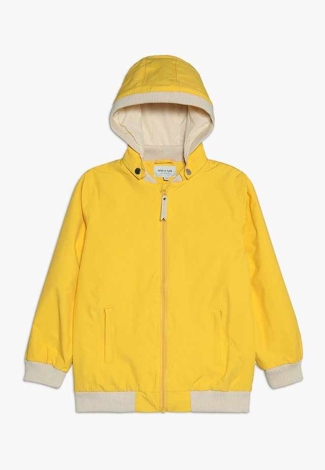 Waterproof jacket - daffodil yellow