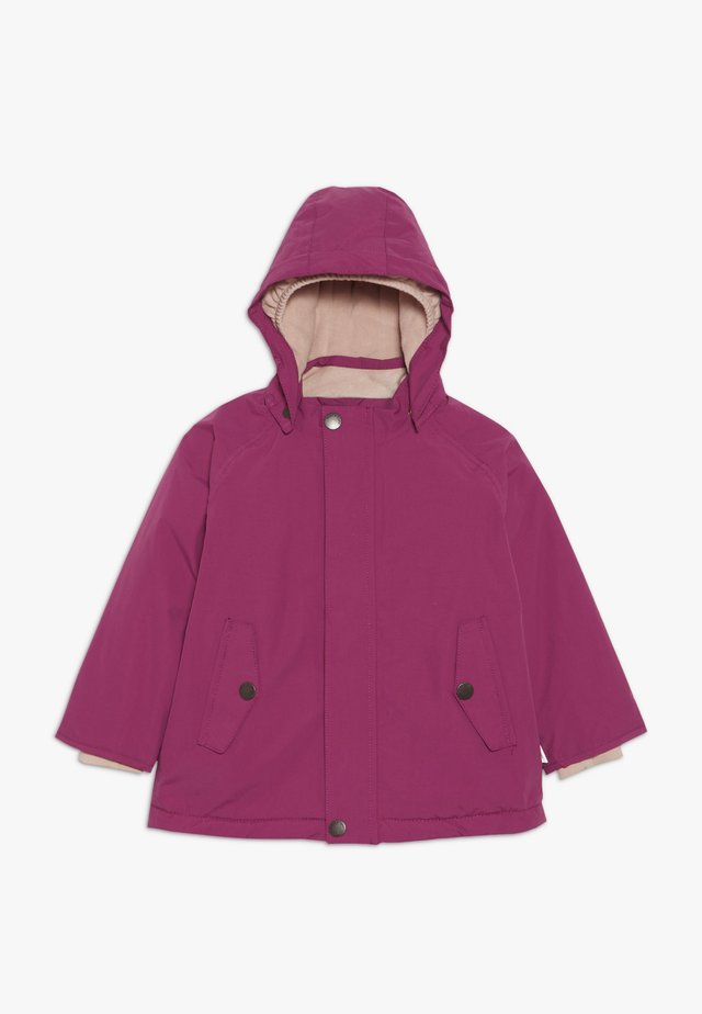 WALLY JACKET - Kurtka zimowa - cherry