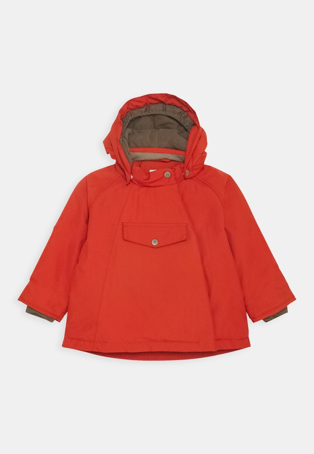WANG JACKET UNISEX - Winterjas - rooibos tea orange