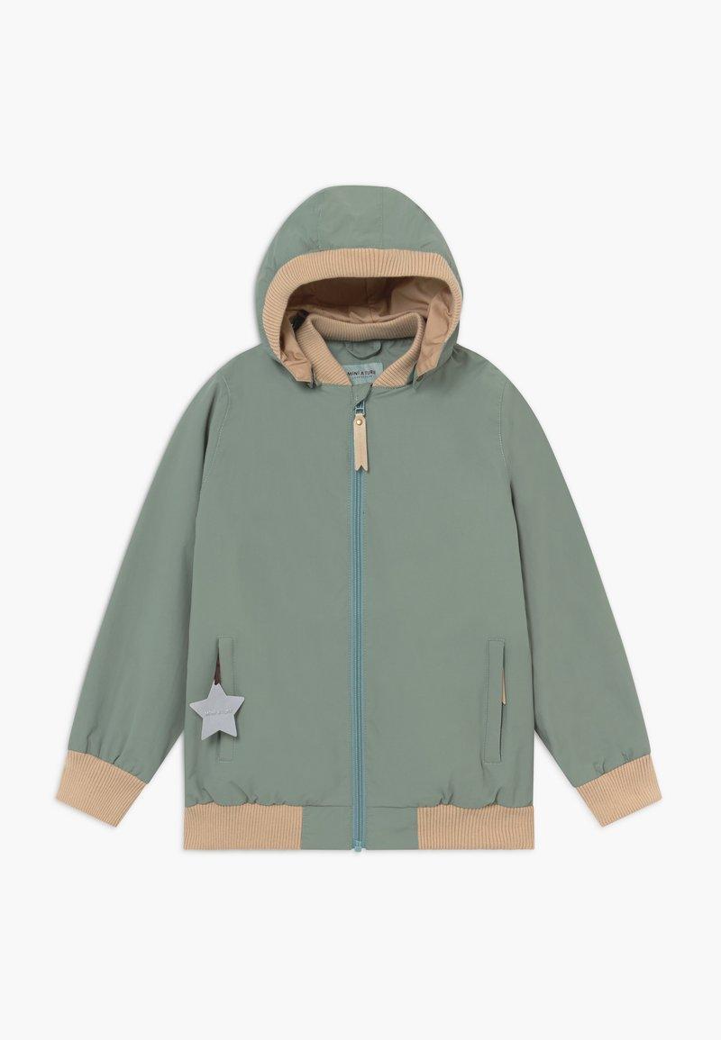 MINI A TURE - WILDER  - Waterproof jacket - chinois green