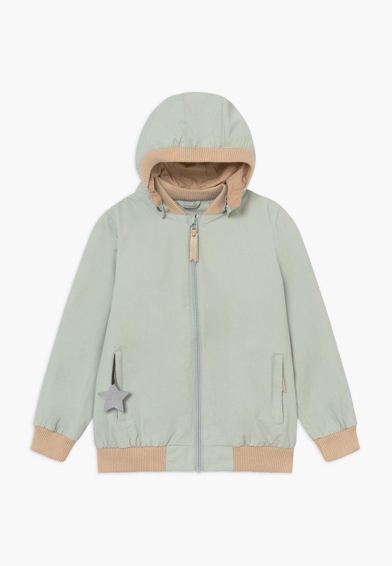 MINI A TURE - WILDER  - Vodotěsná bunda - puritan grey