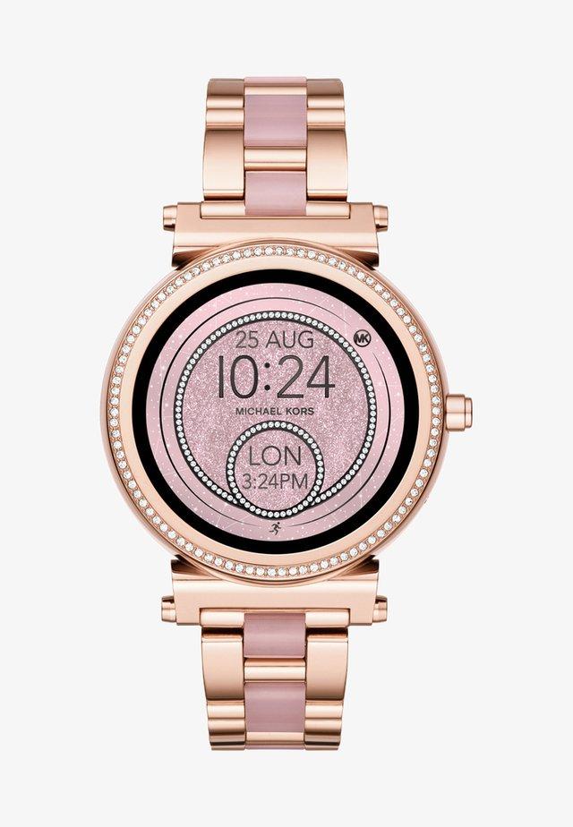 SOFIE - Smartwatch - rosegold-coloured