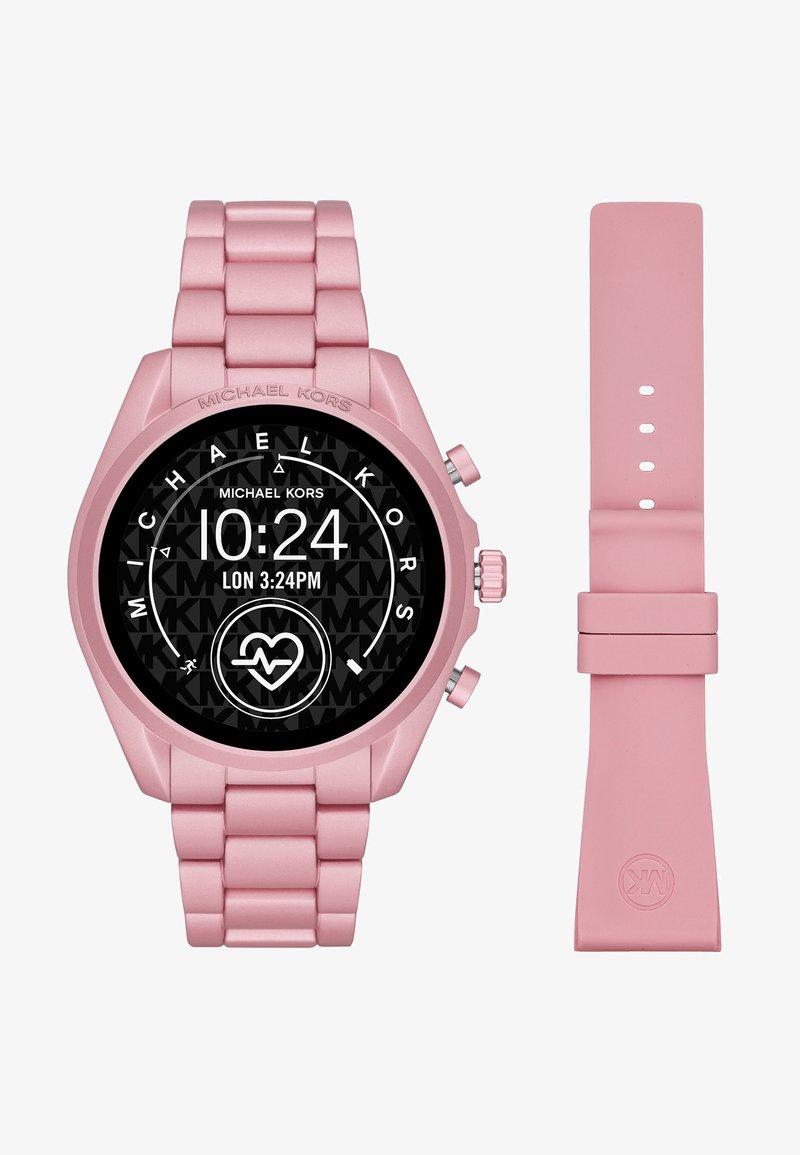 Michael Kors Access - BRADSHAW 2 SET - Smartwatch - pink