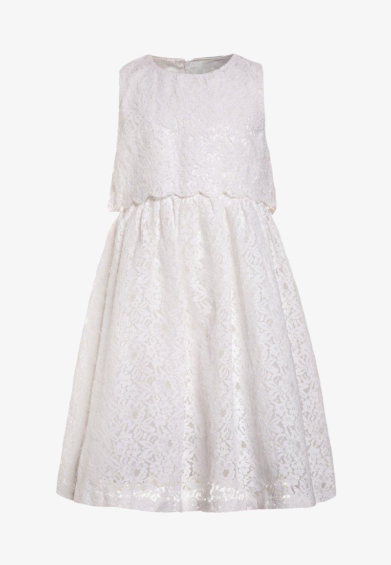 mint&berry girls - GLITTER DRESS OLD   - Cocktailkleid/festliches Kleid - bright white