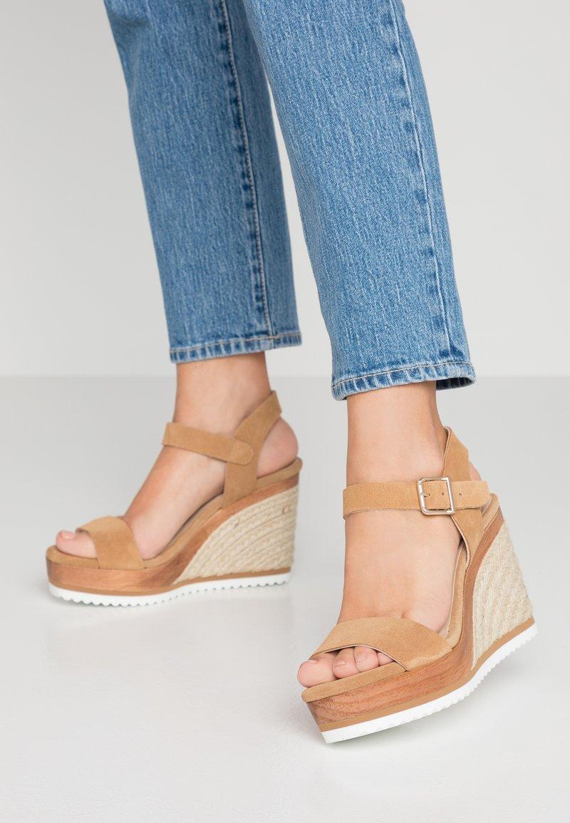 Minelli - High heeled sandals - beige